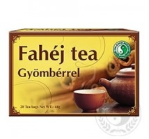 DR.CHEN FAHÉJ TEA GYÖMBÉRREL 20 filter